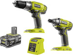 Ryobi One+ Drill Driver, Impact Driver and 4ah Battery & Charger $199 @ Bunnings Warehouse