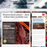 [WA] Fresh Live Western Rock Lobster $20 Each (~500g) Pick-up Only @ Fremantle Fishing Boat Harbour