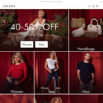 Boxing Day Sale: 40-50% off Entire Site @ GUESS
