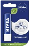 Nivea Lip Balm $1.79 (S&S $1.61) Original, Hydro, Repair and Others + Delivery ($0 with Prime or $39 Spend) @ Amazon AU