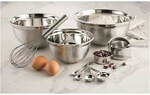 Soffritto Professional Bake Stainless Steel Mix & Measure 12 Piece Baking Set $21.24 (RRP $89.95) + $10 Shipping @ House