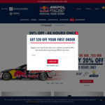 20%-40% off Redbull Ampol Racing Merch for 48 Hours + Free Shipping over $80 @ Red Bull Ampol Racing Shop