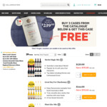 Buy 2 Cases of Wine and Get 12 Bottles of Premo Shiraz for Free (RRP $239.88) + 50% Cashback with ShopBack @ Cellarmasters