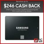 [Afterpay] Samsung 860 Evo 4TB SATA Internal SSD $559.20 ($313.20 after Cashback) Delivered @ BPC Technology eBay