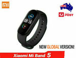 Xiaomi Mi Band 5 Fitness Tracker (Global Version) $14.99 Delivered @ Gshopper eBay