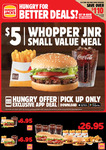 Hungry Jack's Vouchers (Valid until 28 June 2021)