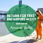[QLD] Return for Free Fares between The Brisbane City and The Airport on The Airtrain $19.50 (Save $19.50)