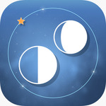 [iOS] Free - Moon Phases Deluxe/LunarSight/Dot.Line/Watch Wheels/Driftly/Spaceholes/Missile in a Watch - Apple Store