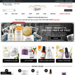 3 for 2 Items at Kiehl's, Spend $180 and Get 3-Piece Free Set Gift
