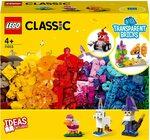 LEGO Classic Creative Transparent Bricks 11013 Building Set $23.10 (RRP $49.99) + Delivery ($0 with Prime/$39 Spend) @ Amazon AU