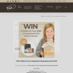 Win a XXL Philips Air Fryer and a Deluxe Gingerbread Folk Hamper Worth $1,300 from Gingerbread Folk