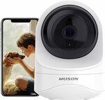 Muson Wi-Fi Indoor Home Camera 1080p $47.24 (Was $62.99) Delivered @ Dudios via Amazon AU