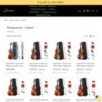 Eastar 1/4, 1/2 and 3/4 Size Violins $32 Delivered @ Donner Music