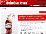 Coke Unleashed Reward with Every Bottle of Diet Coke