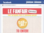 Le Tan Le Fanfair: Fortnightly Giveaways