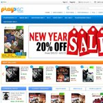 PlayDisc Games 20% off Store Wide This Weekend