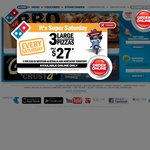 Domino's Pizza Traditional and Value Pizzas $6.50 Pickup