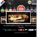Domino's - Value $4.95 / Trad $7.95 Pickup, Triple Deal $25 Delivered, Two Sides $6