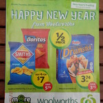 Boxing Day Weekly Specials @ Woolies: 4x Drumsticks $3.74   4x Doritos/Smiths $7.00