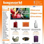 Bagworld - 8% off! Free Shipping for Orders > $19.95