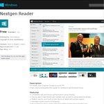 Nextgen Reader [RSS Reader for Windows 8/8.1/RT] - Was $2.99, Free for Limited Time