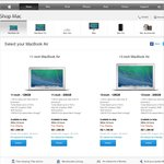 """New 13"""" MacBook Air $50 Cheaper Than Current Model - Apple Store"""