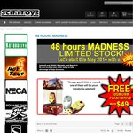 Scifitoys: Crazy Bargains + Free Iron Man USB at The 48 Hours Madness in Scifitoys.com.au