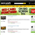 DSE Red Card Reductions on Big Screen TV