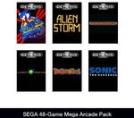 SEGA 48-Game Mega Arcade Pack [Online Code] US Address Required US$4.96 from Amazon - Save $64.96