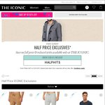 THE ICONIC Half Price on Full Price & Reduced Items (Selected Styles Only on Linked Page)
