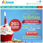 20% off All Orders at Amcal.com.au Plus Spend over $60 and Get Free Shipping