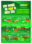 Subway Five Dock (NSW) Discount Voucher