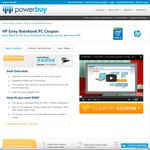 HP ENVY Laptop - Core i5 / 8GB RAM / 256 SSD - $1,149.01 (after Discount - Save $550) @ PowerBuy