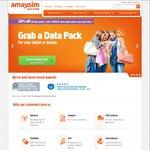 25% off All Amaysim 4G Data Packs Including 10GB 365 Days for $75 @ Amaysim