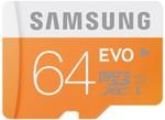Samsung EVO 64GB MicroSD $30 Delivered @ PC Byte