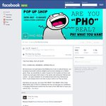 Pay What You Want (e.g. $0, $6 etc.) for Pho @ Pho Real (Melbourne CBD)