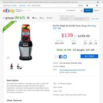 Nutri Ninja Pro $139 @ Good Guys eBay Group Buy