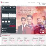 10% off Virgin Australia Domestic and International Flights