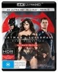 Batman V Superman - Dawn of Justice Ultimate Edition | 4K + Blu Ray + UV $29.99 @ Sanity