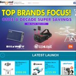 DJI Phantom 4 4k Drone $999.99USD (Approx $1360 AUD) (Save $349USD) Via Banggood Top Brand Sale