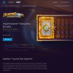 Hearthstone Welcome Bundle - $6.49 (10 Classic Packs + Free Random Class Legendary) @ Battle.net