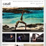 Casall - Women's Premium Activewear Brand from Sweden - Receive 20% off Your First Order