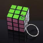 Mini 'Rubix' Cube Puzzle Key Chain USD $0.48 (AUD $0.64) Delivered @ AliExpress