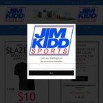 2x For $10 Slazenger Bioslyx Compression Short Sleeve Tops ($34.95 RRP) Plus $15 Standard Shipping @ Jim Kidd Sports