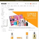 Clinique Free Gift Set on Order over $60 at Myer + 10% Off Online