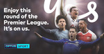 Free Round of Premier League from Optus