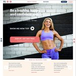 Tiffxo (Diet and Fitness Program by Tiffiny Hall) Free in May - Save $49