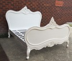 French Queen Size Bed New Antique Reproduction Closing Sale at Indodeco - $950 + Shipping