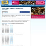 Flights to New York Return from Melbourne $1054, Sydney $1086 on Delta/Etihad @ IWTF