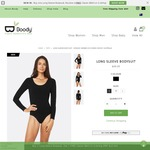 Boody Eco Wear - Buy 1 Long Sleeve Bodysuit $49.95, Receive a FREE Classic Bikini or G-String (RRP $12.95)